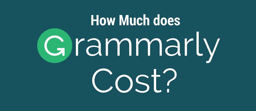 Grammarly Cost